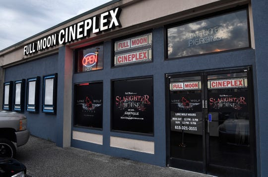 The Full Moon Cineplex compound in Hermitage houses a movie theater, haunted house and tattoo parlor.
