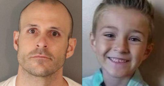 Bryce McIntosh, 32, of Corona, is accused of killing his missing son, Noah McIntosh, 8. The elder McIntosh is awaiting trial on a number of offenses including first-degree murder.