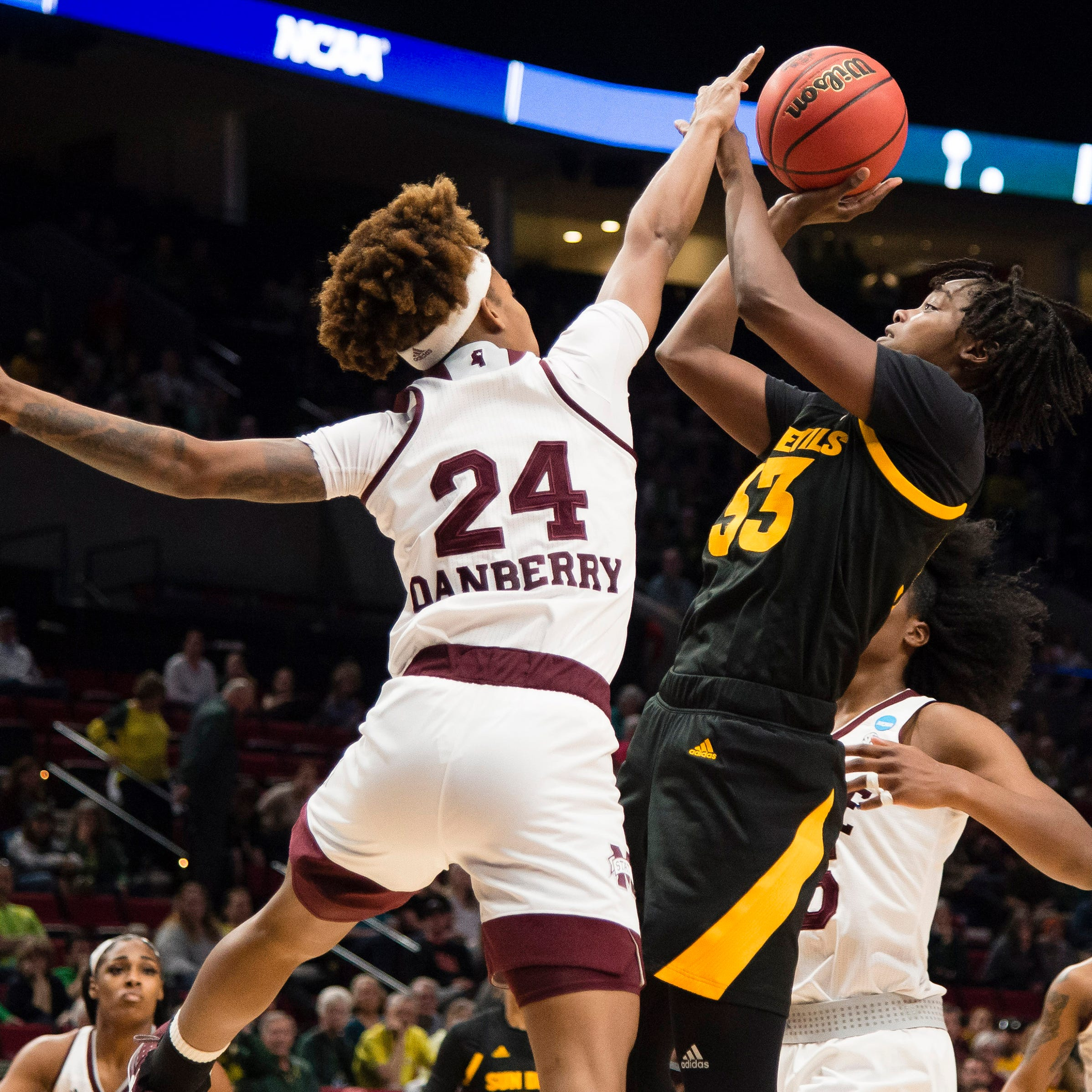 Fouls costly for No. 22 ASU women's basketball in Sweet 16 loss to No. 4 Mississippi State