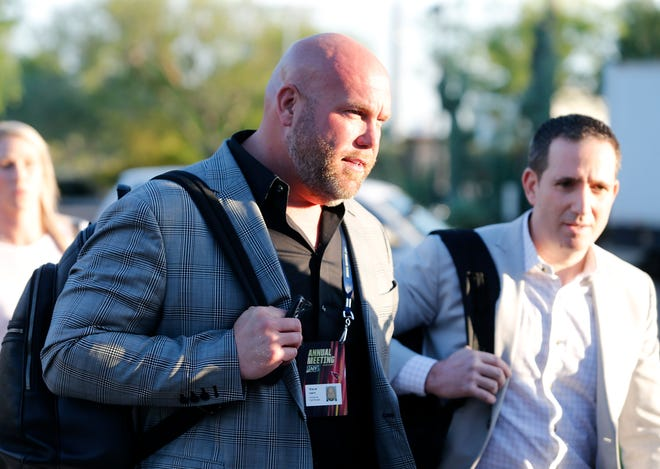 Cardinals General Manager Steve Keim attends the annual NFL owners meetings on March 24.