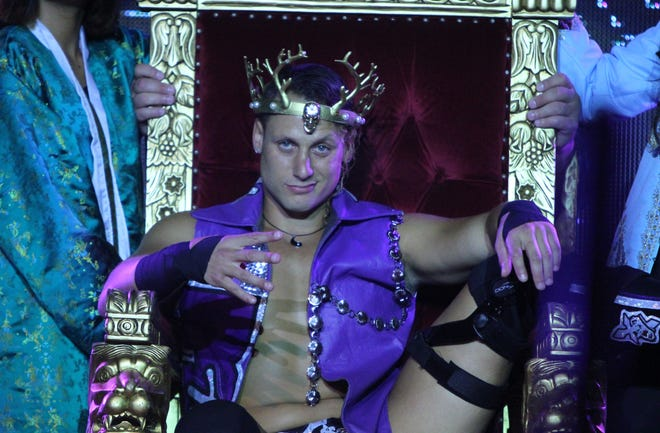 Matt Taven, will wrestle for the Ring of Honor world title at Madison Square Garden next week.
