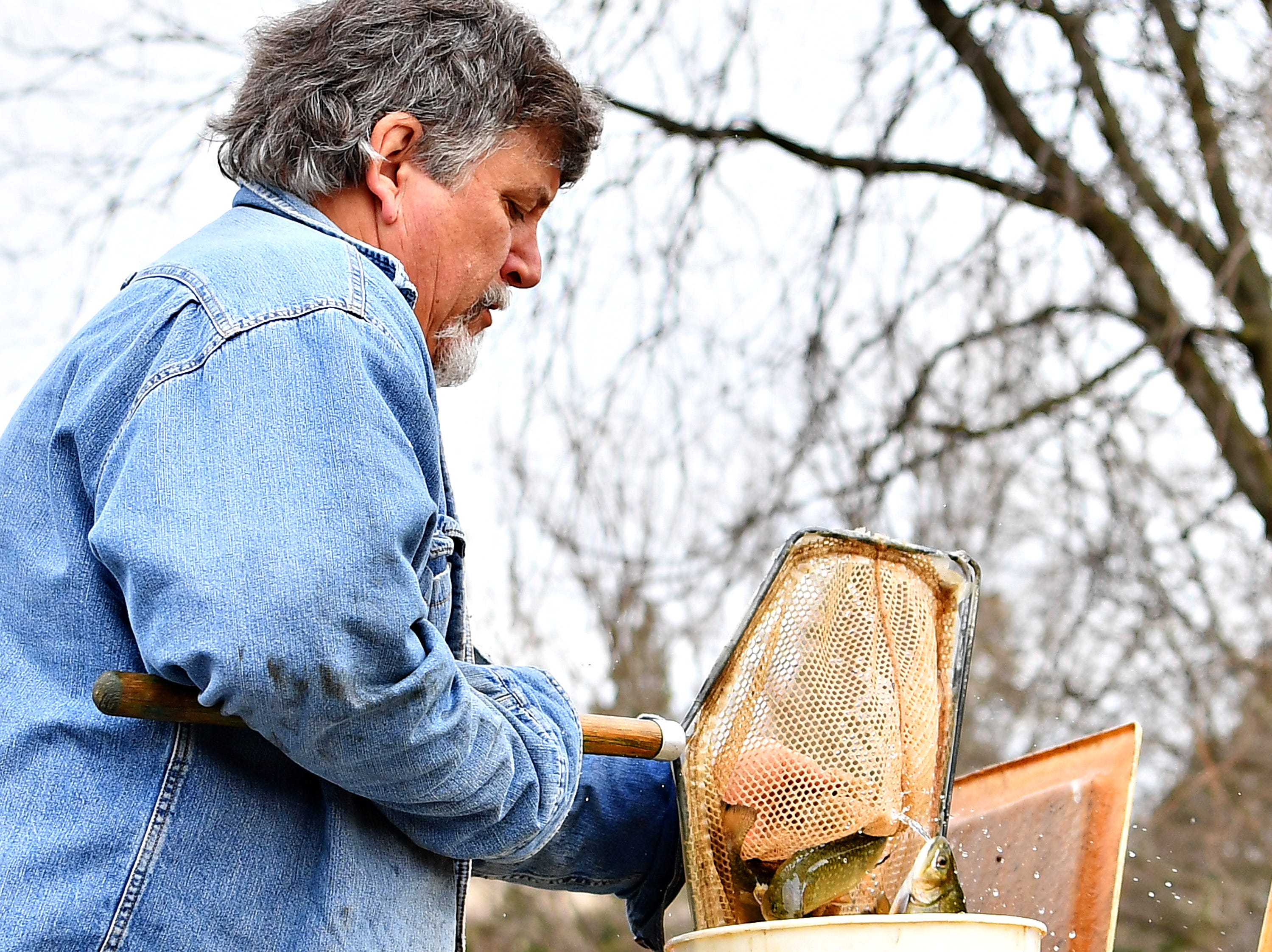 The 21st Annual William Shaffer Trout Fishing Derby at Kiwanis Lake in York City, Saturday, March 30, 2019. Dawn J. Sagert photo