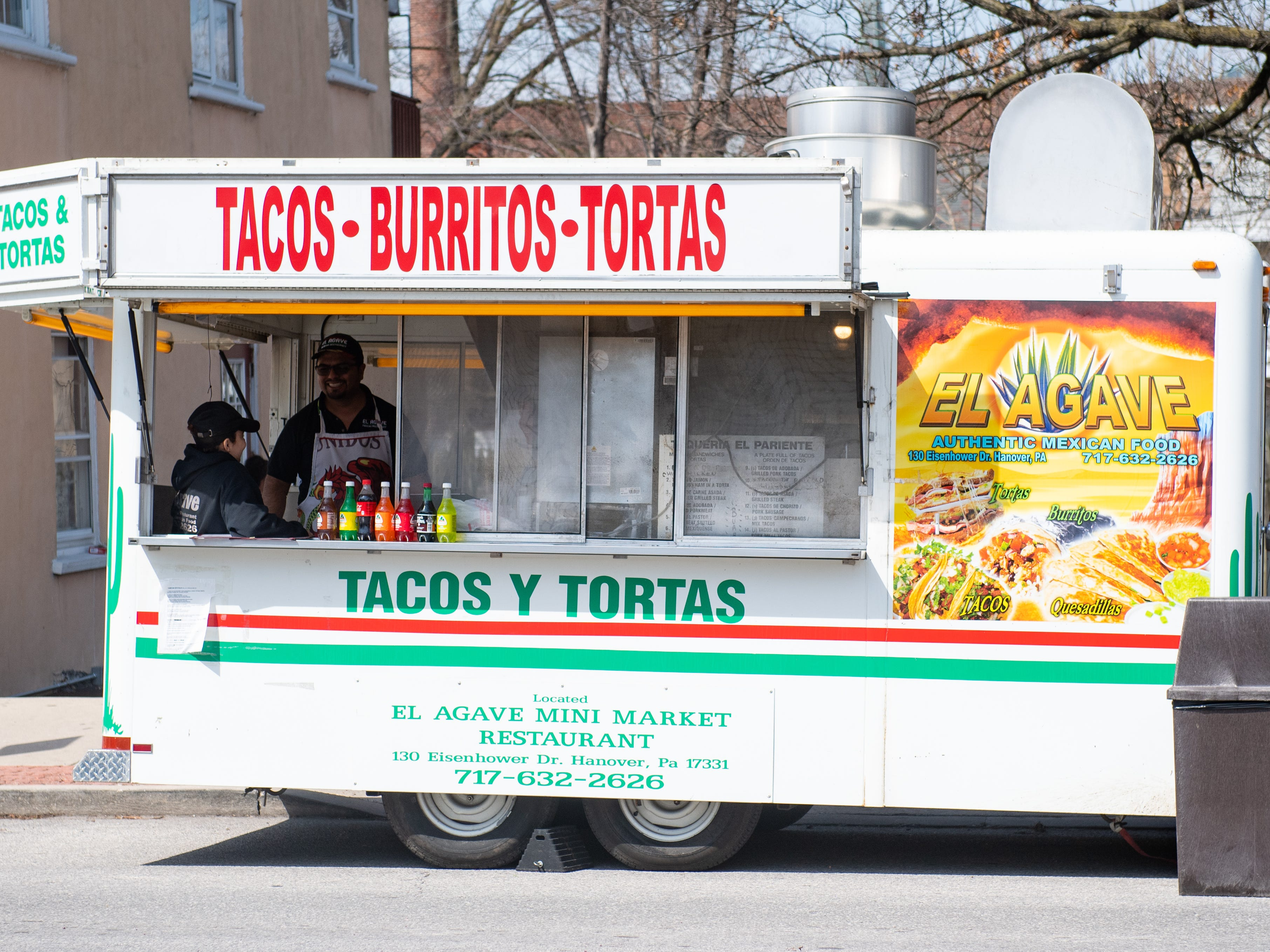 A food truck provides tasty food during the Adelante Festival at Renaissance Park, March 30, 2019.