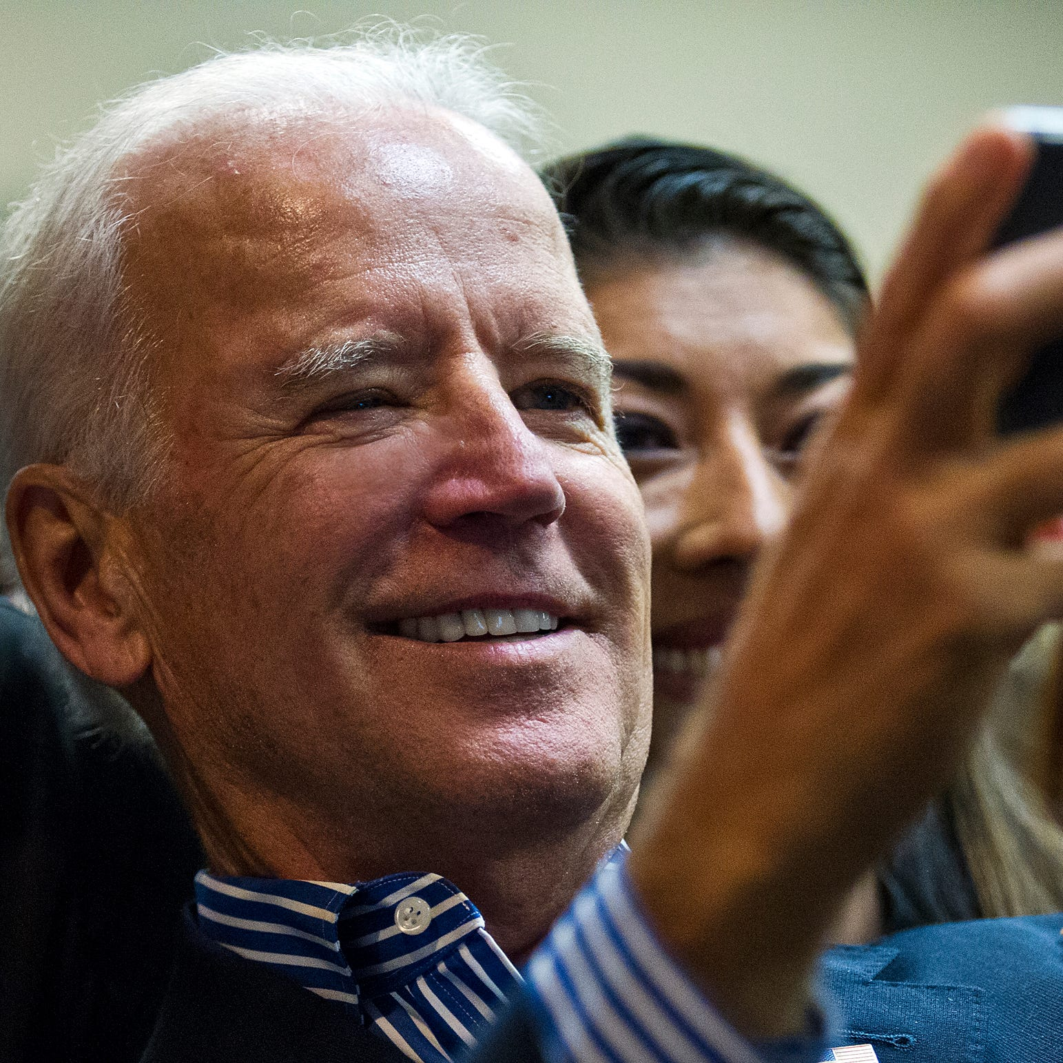 Look at intention behind Biden's 'hands on' approach with women