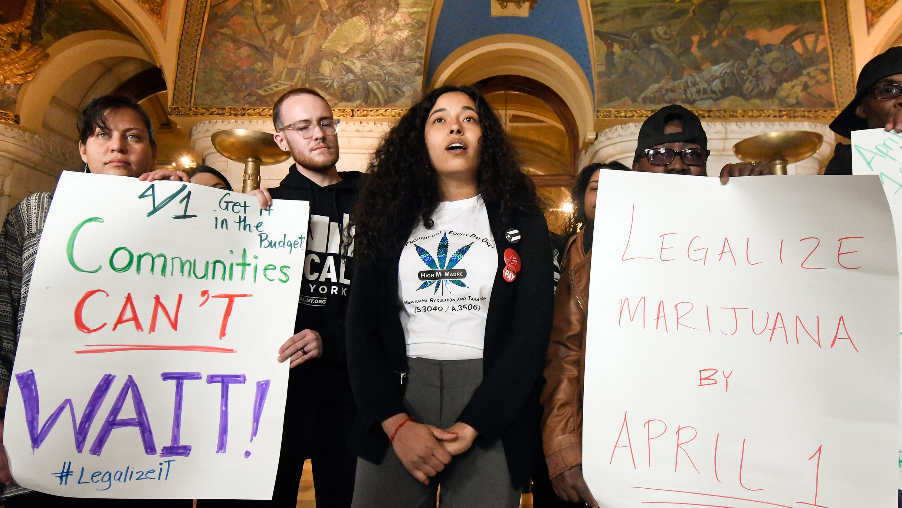 Legalized marijuana in New York will have to wait