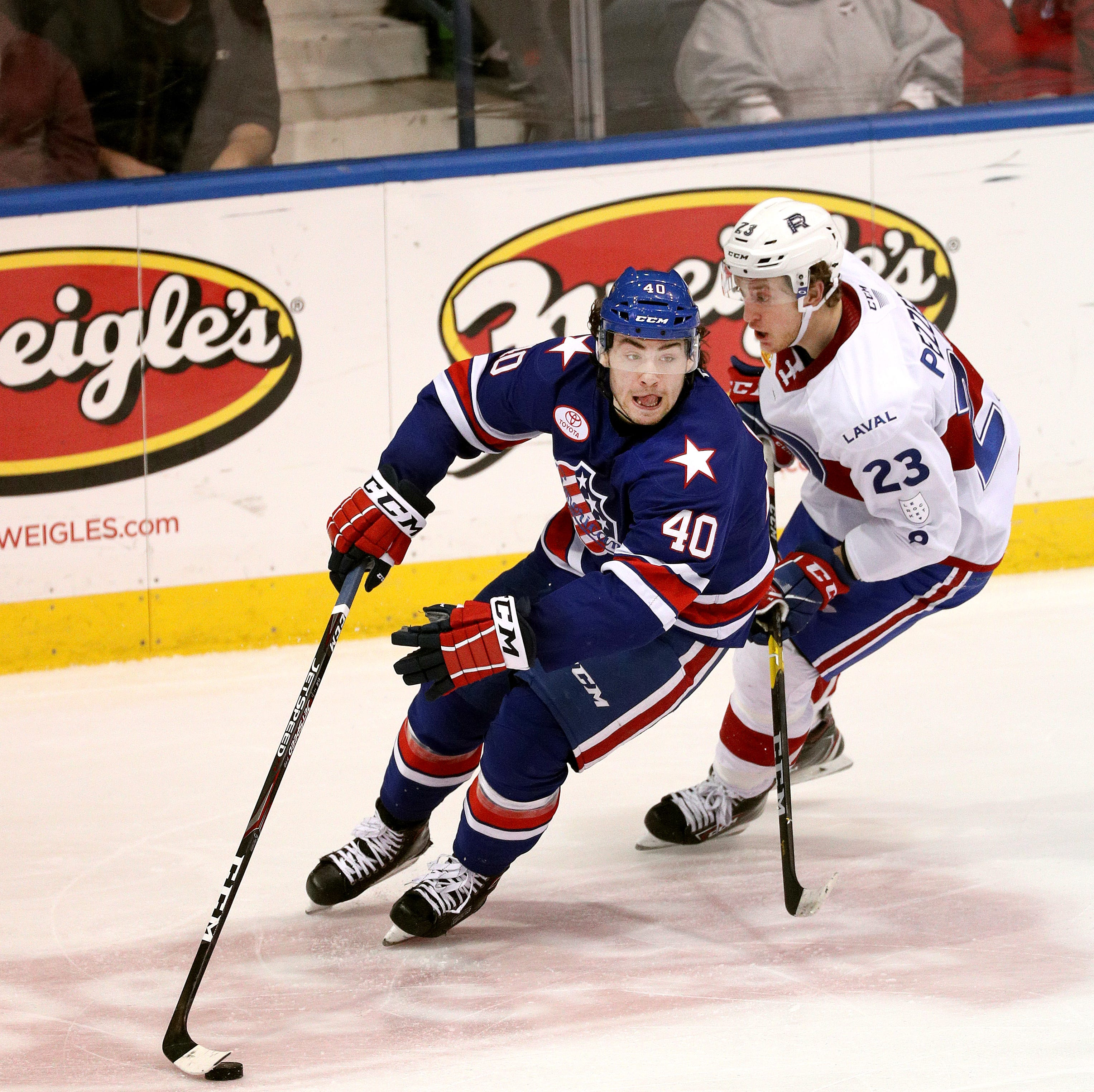Amerks playoff schedule: Games 1 and 2 are at home vs. Toronto