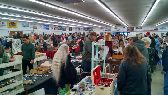 """The Polk Flea Market, located at the Polk County Fairgrounds, is gaining 80 new vendors and a """"Garden Alley"""" on Sunday, April 7."""