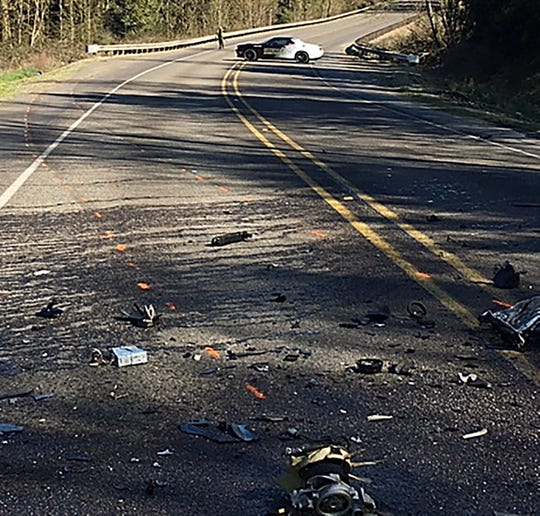 Marion County Sheriff's Office is investigating a motor vehicle crash on McKay Road NE just east of Highway 219 near St. Paul.  A passerby came upon the two-vehicle crash after it had occurred and called 911. Three people were found dead in the wreckage. The crash is under investigation.