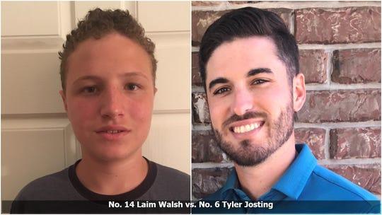 Bracket Survivor XIV, quarterfinal matchup: No. 14 Laim Walsh vs. No. 6 Tyler Josting