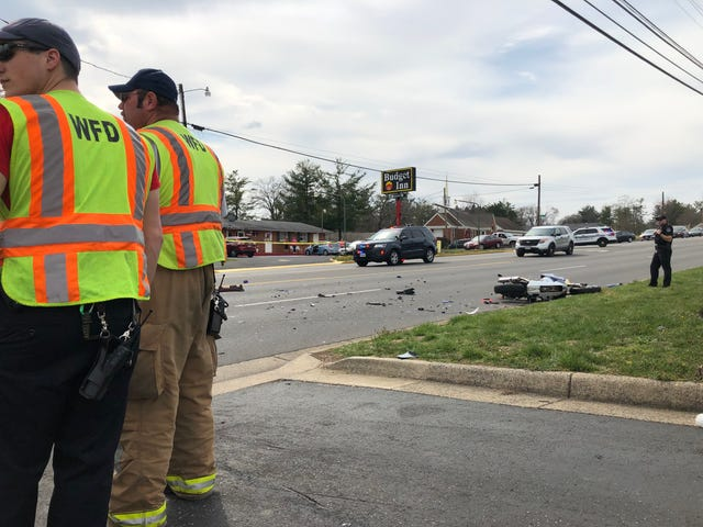 Witness: speeding motorcycle crashes in fatal wreck