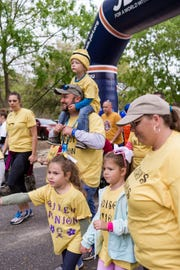 Last year's One Walk for Type One diabetes. This year's walk is Saturday April 6 at the Genesis Church on Fred George Road.