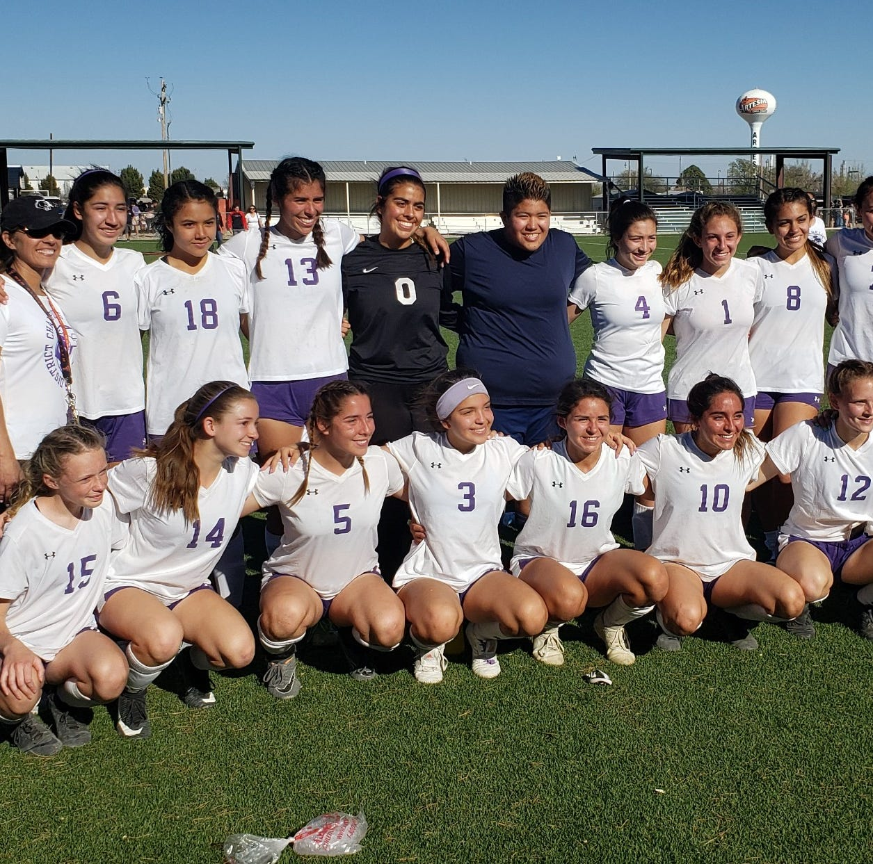 The Franklin girls soccer team won its Class 6A bidistrict playoff match on Friday in Artesia with a 1-0 win vs. Midland high.
