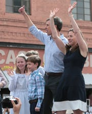 El Pasoan Beto O'Rourke officially kicked off his presidential campaign Saturday on El Paso Street in downtown El Paso.