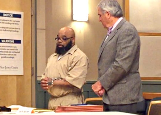 Friday was sentencing day in Cumberland County Superior Court for confessed rapist Joseph L. Bordley, who plead guilty March 15 to attacking a 13-year-old girl. The Vineland man already is serving two sentences for crimes against minors. Here, he addresses the judge while stand with defense counsel Edward Diamond (Right).