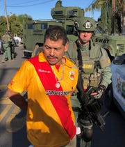 Ramiro Garcia was arrested after a five-hour standoff with Tulare County deputies.