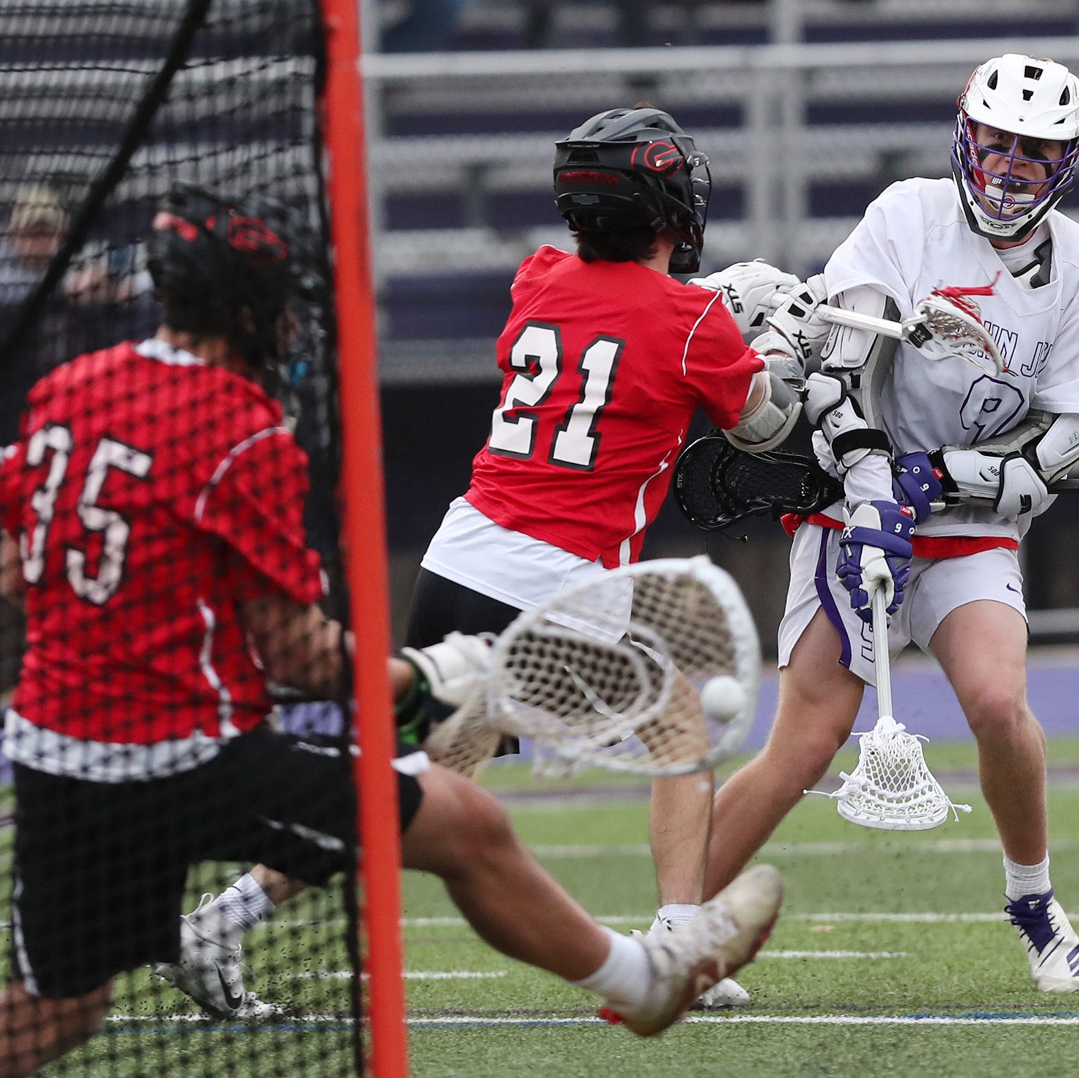 Boys lacrosse: John Jay survives the growing pains, comes back for a win over Rye