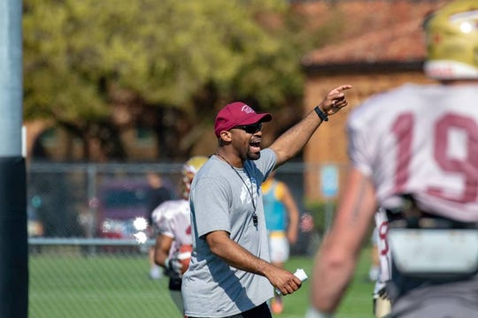 Ashton Aikens has been hired to be Midwestern State's receivers coach.