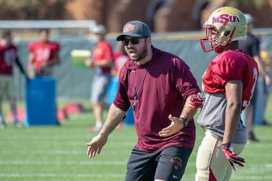Nick Sanchez has been hired to be Midwestern State's defensive backs coach.