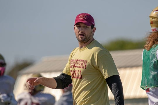 Sky Mornhinweg was announced as one of three new coaching hires for the Mustangs.