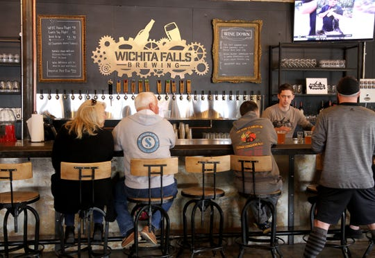 The one year anniversary of Wichita Falls Brewing Company was held Saturday, March 30, 3019, at the WFBC downtown in Wichita Falls.