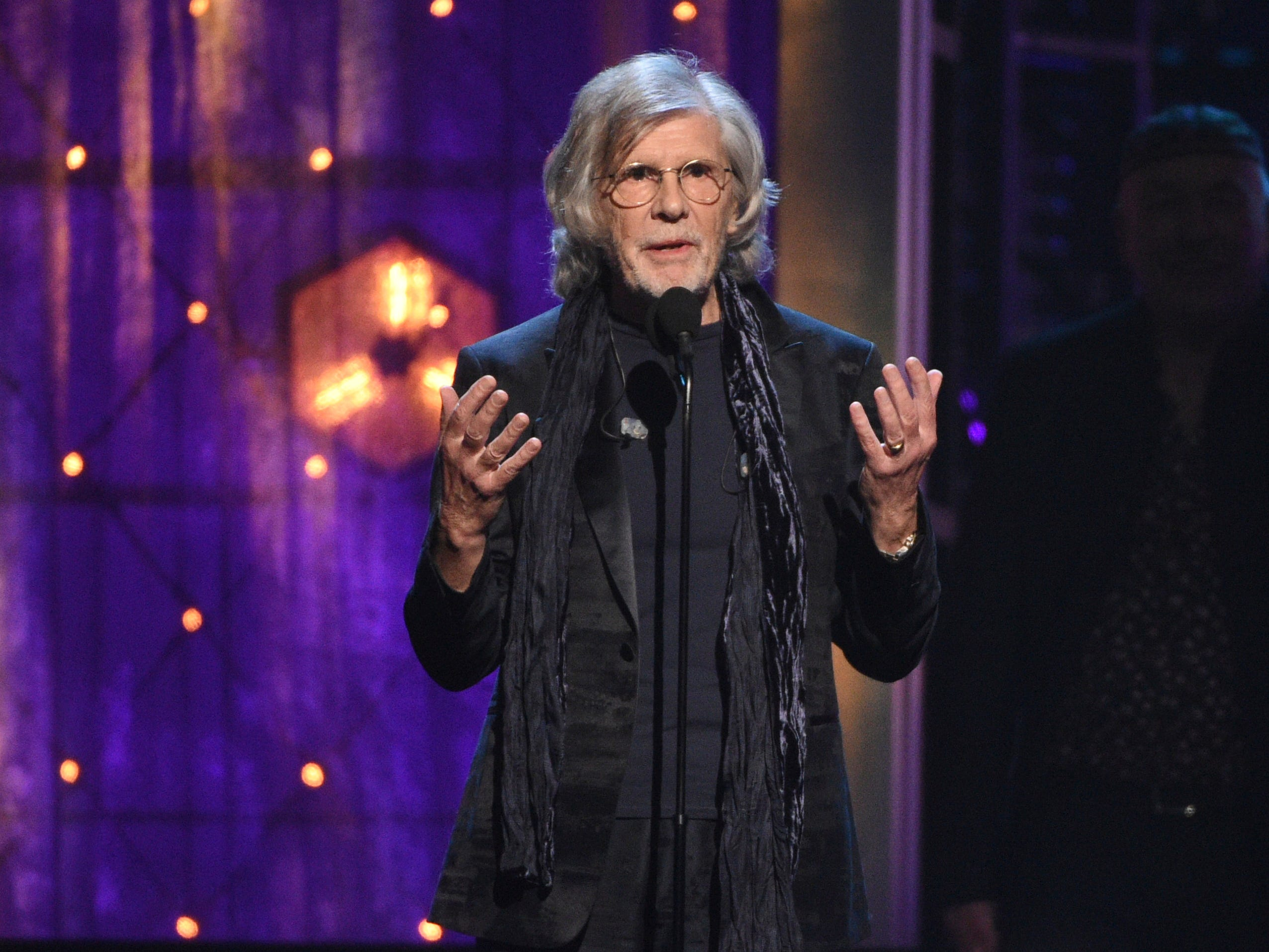 "New inductee Rod Argent of The Zombies, best known for hits including ""Time of the Season"" and ""She's Not There."""