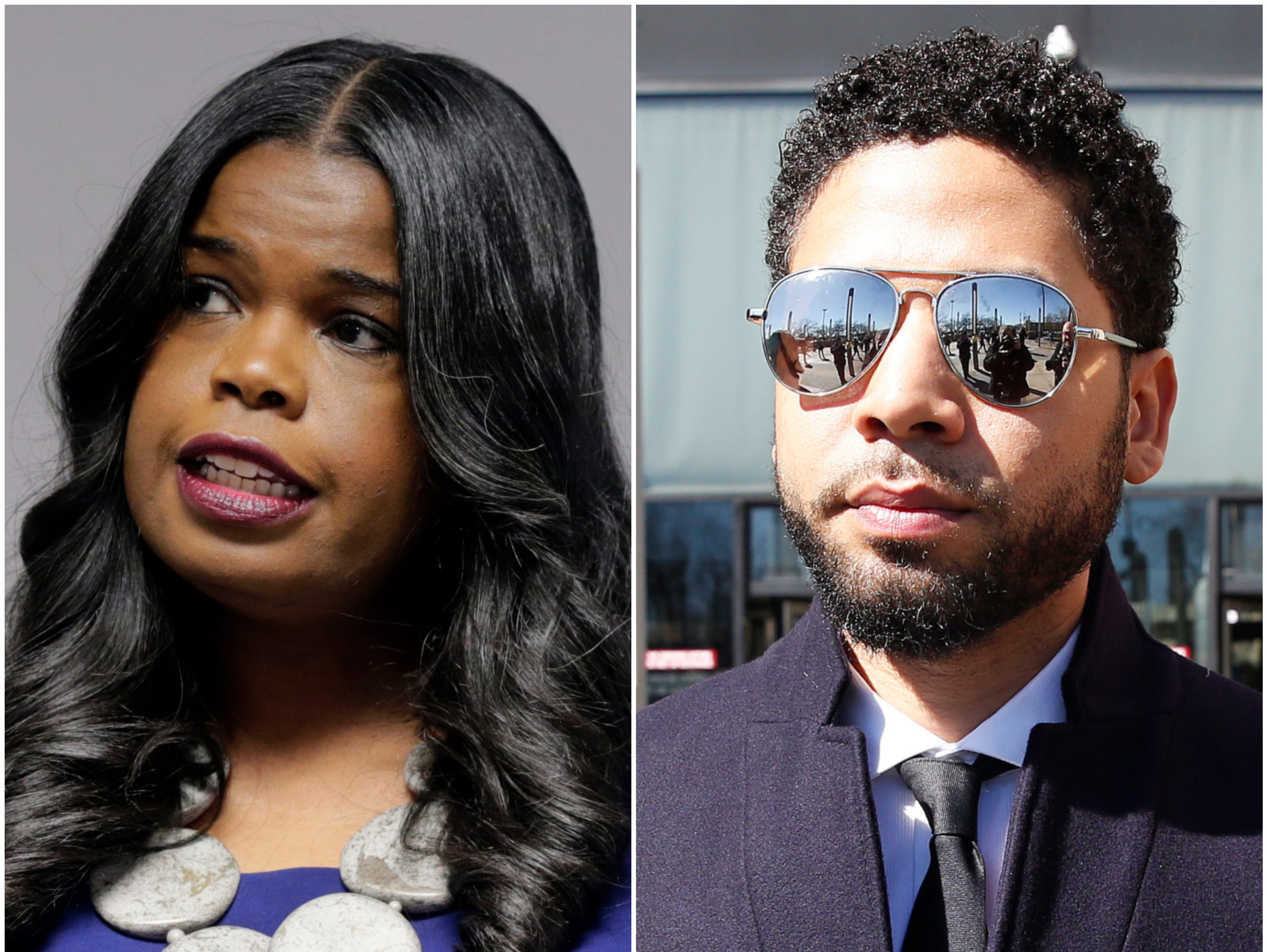 Jussie Smollett fallout: Police union, activists hold dueling protests over Kim Foxx conduct