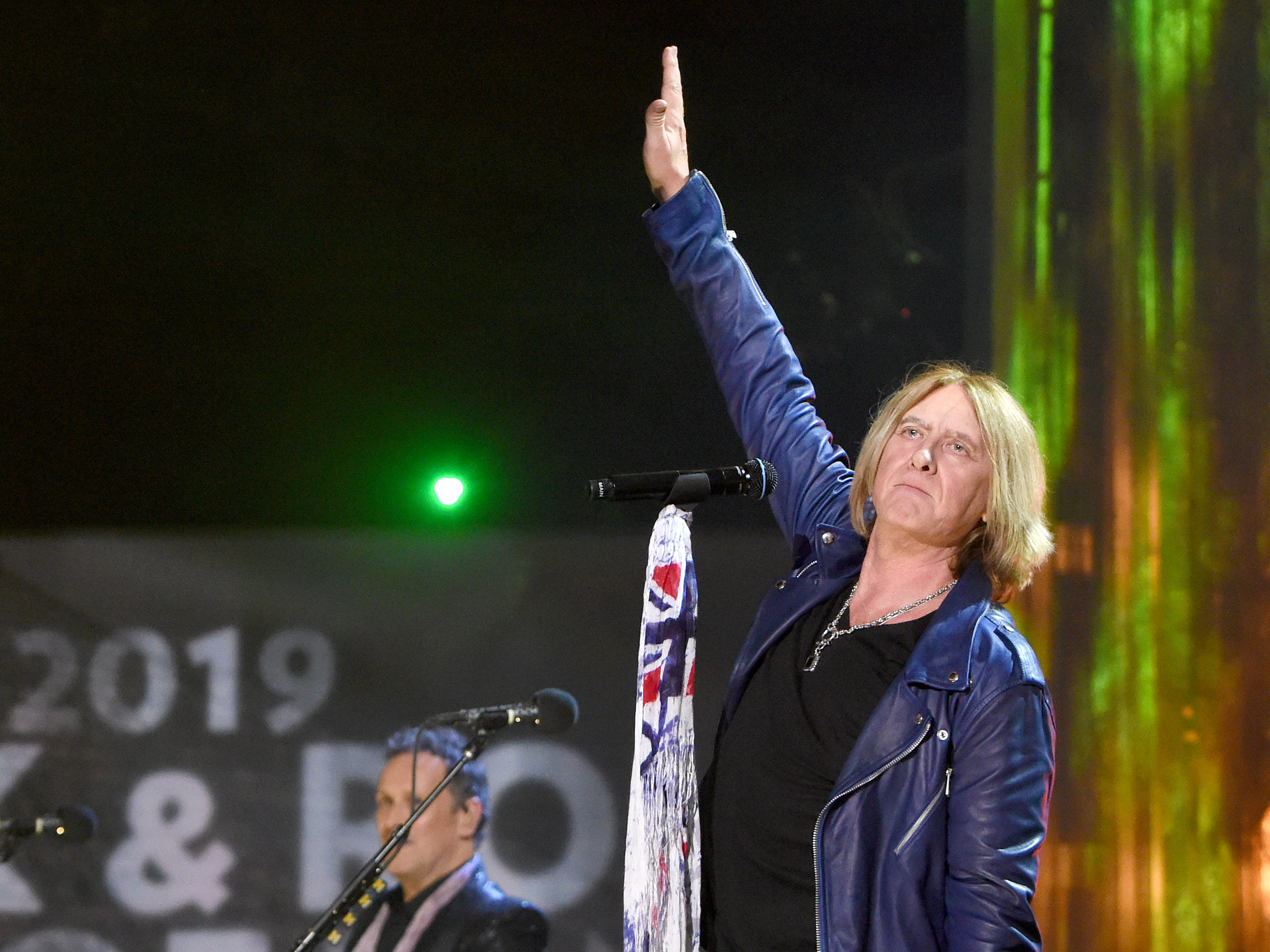 "Joe Elliott of Def Leppard performs a set including hits ""Pour Some Sugar on Me"" and ""Photograph."""