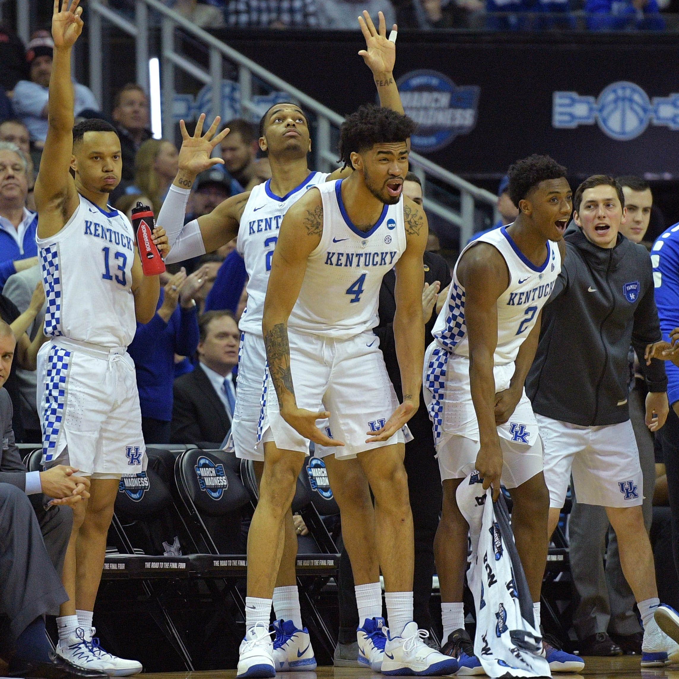 Kentucky-Auburn SEC showdown set for Sunday in NCAA Tournament Elite Eight