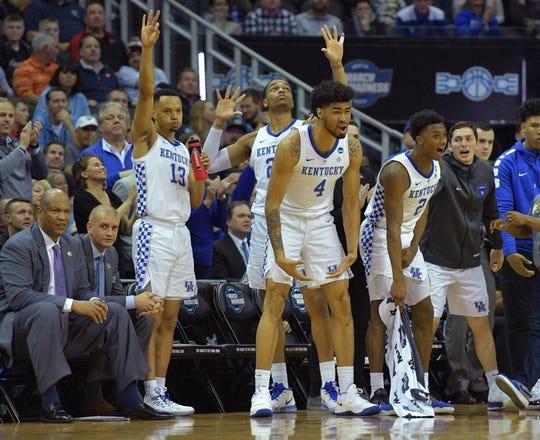 Kentucky is headed to the NCAA Elite Eight.