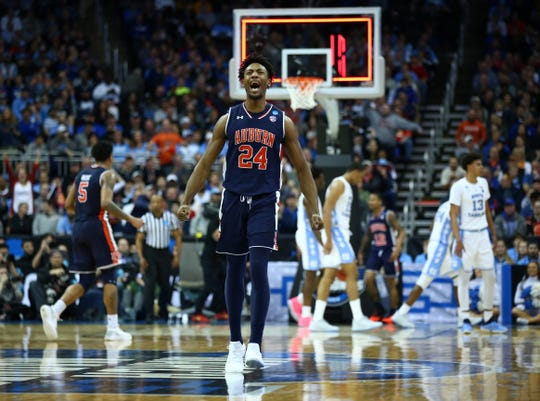 Forward Anfernee McLemore and the Auburn Tigers are headed to the NCAA Elite Eight.
