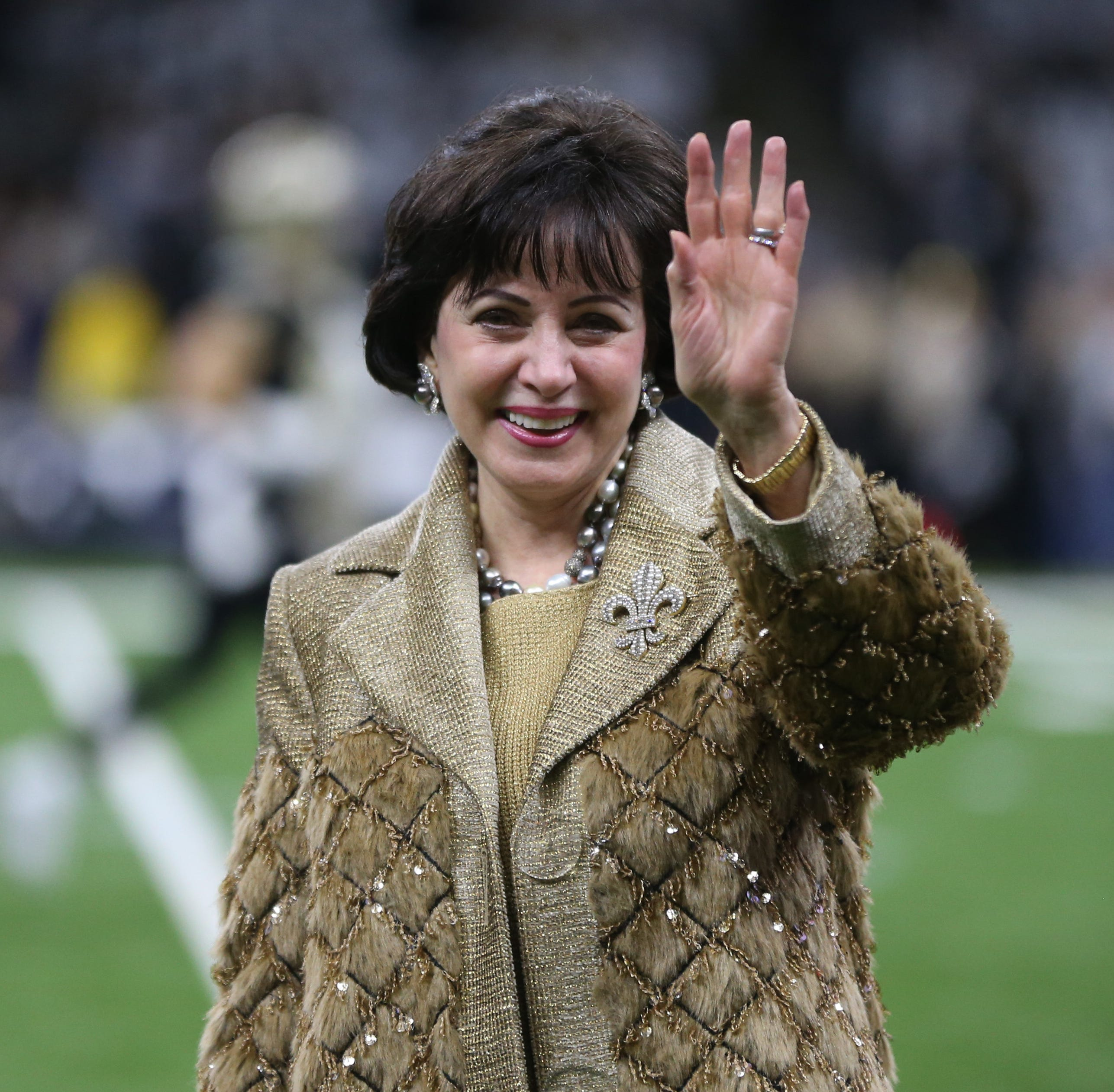 Meet New Orleans Saints owner Gayle Benson, who might just be the most powerful woman in the NFL