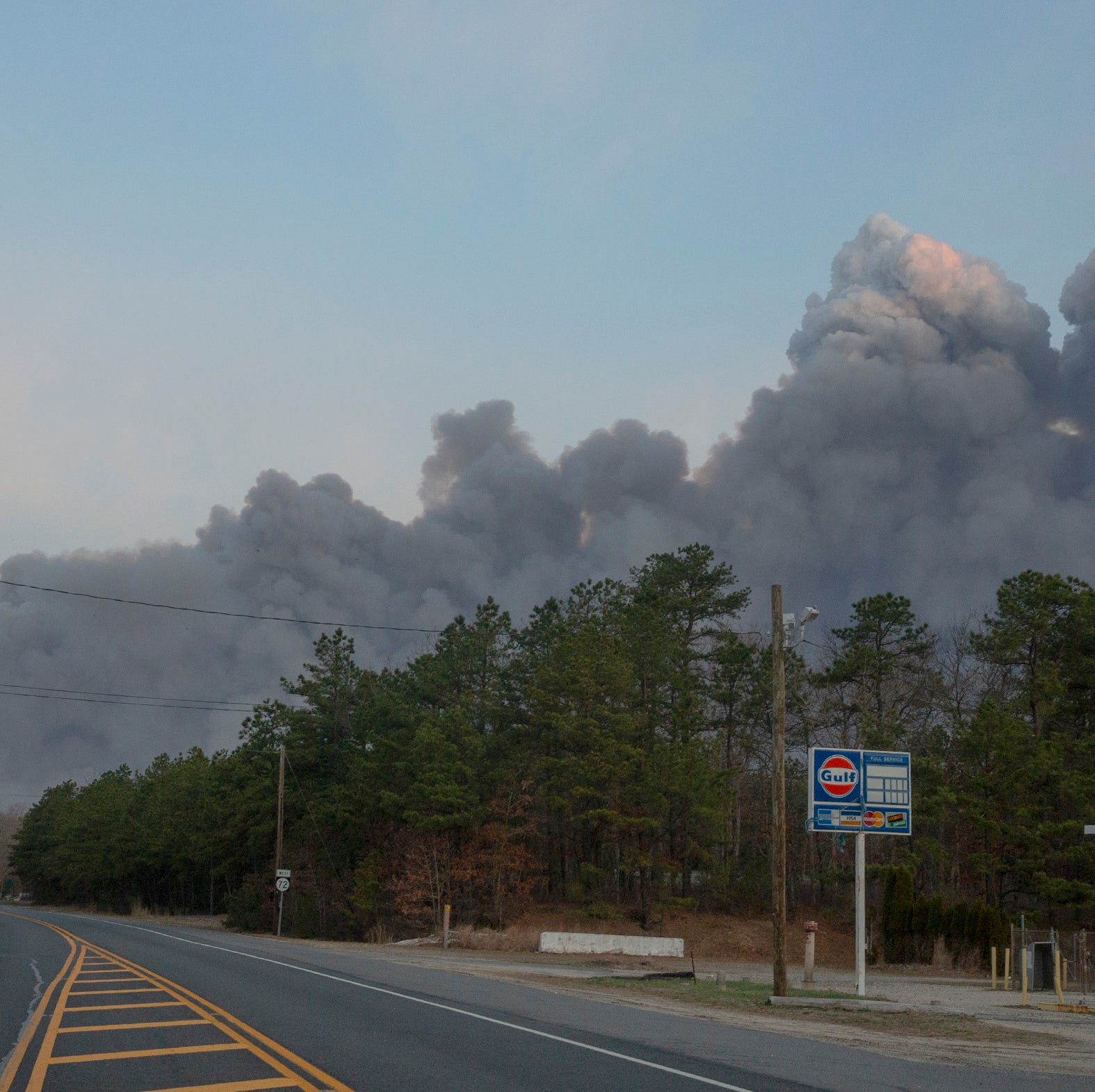 Officials say human activity cause of 11,000-acre Burlington County wildfire