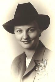 Dr. Virginia Connally as a young woman.