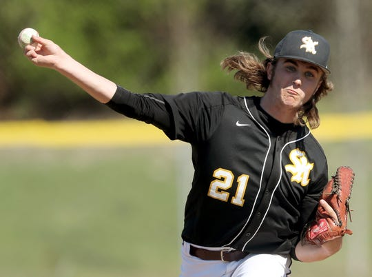 South Kitsap's Blake Bingham and the Wolves have been busy during spring break with five games scheduled in the span of seven days.