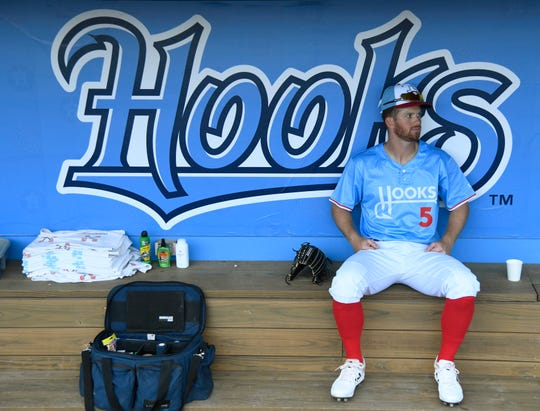 The Hooks face the Round Rock Express in an exhibition game, Saturday, March 30, 2019, at Whataburger Field.