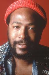 Marvin Gaye, circa 1980.
