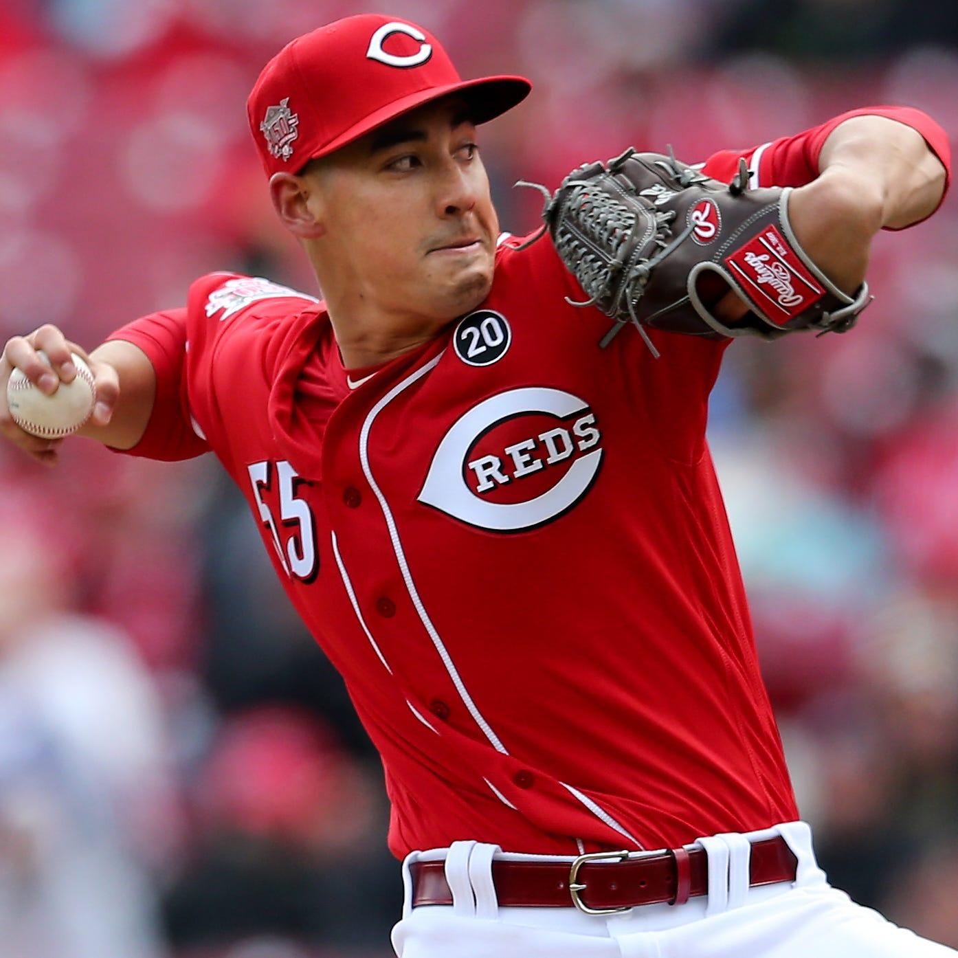 Robert Stephenson, pitching well out of Cincinnati Reds' bullpen, lets go of expectations
