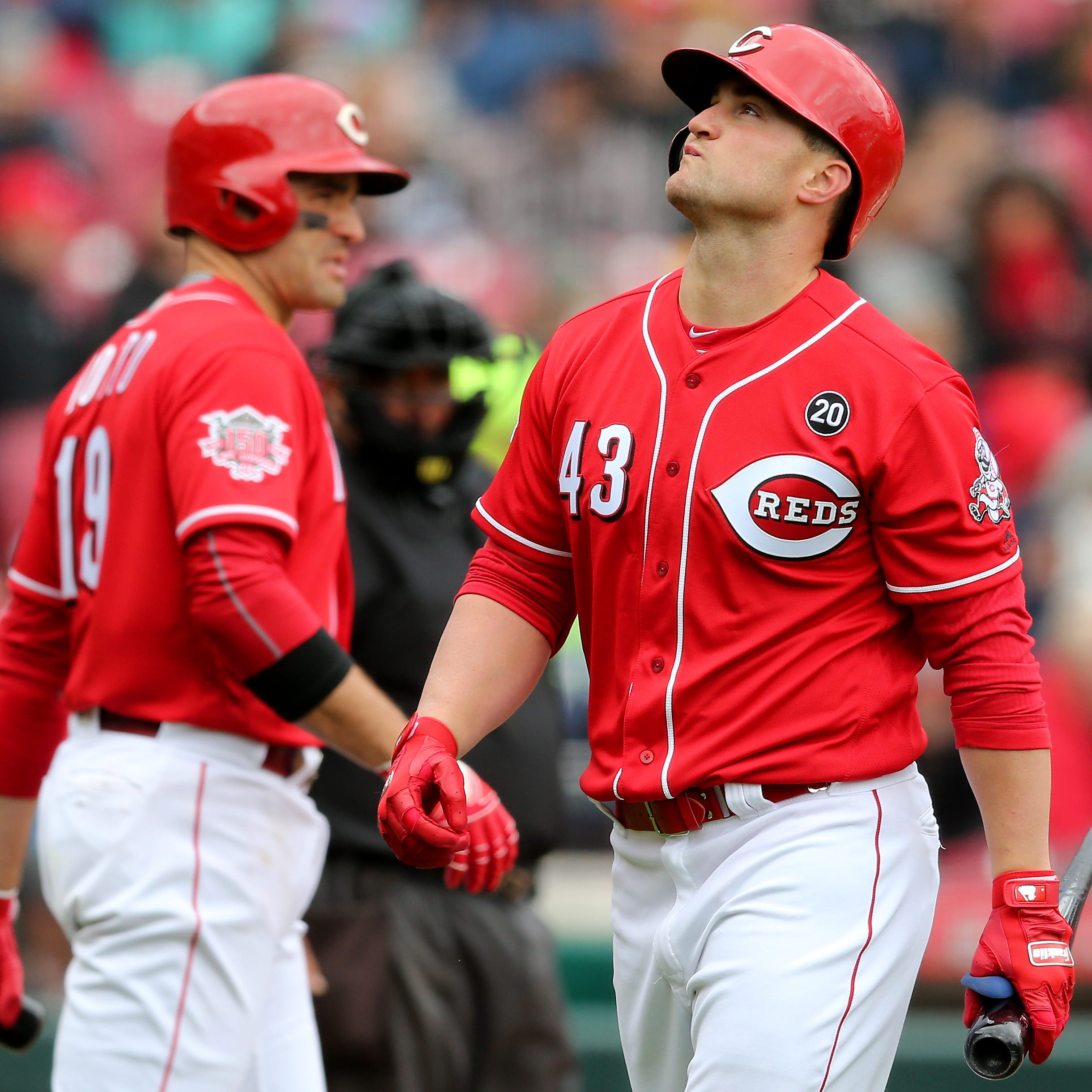 Scott Schebler humbled by rough start to season: 'This game will wear on you mentally'