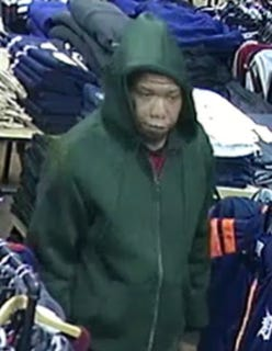 Detroit Police shared images of a man in a green hoodie on March 31, 2019, and asked for the public's help in identifying and locating him. Police said they are seeking the man in connection to a non-fatal shooting that happened on the city's west side on March 1, 2019.