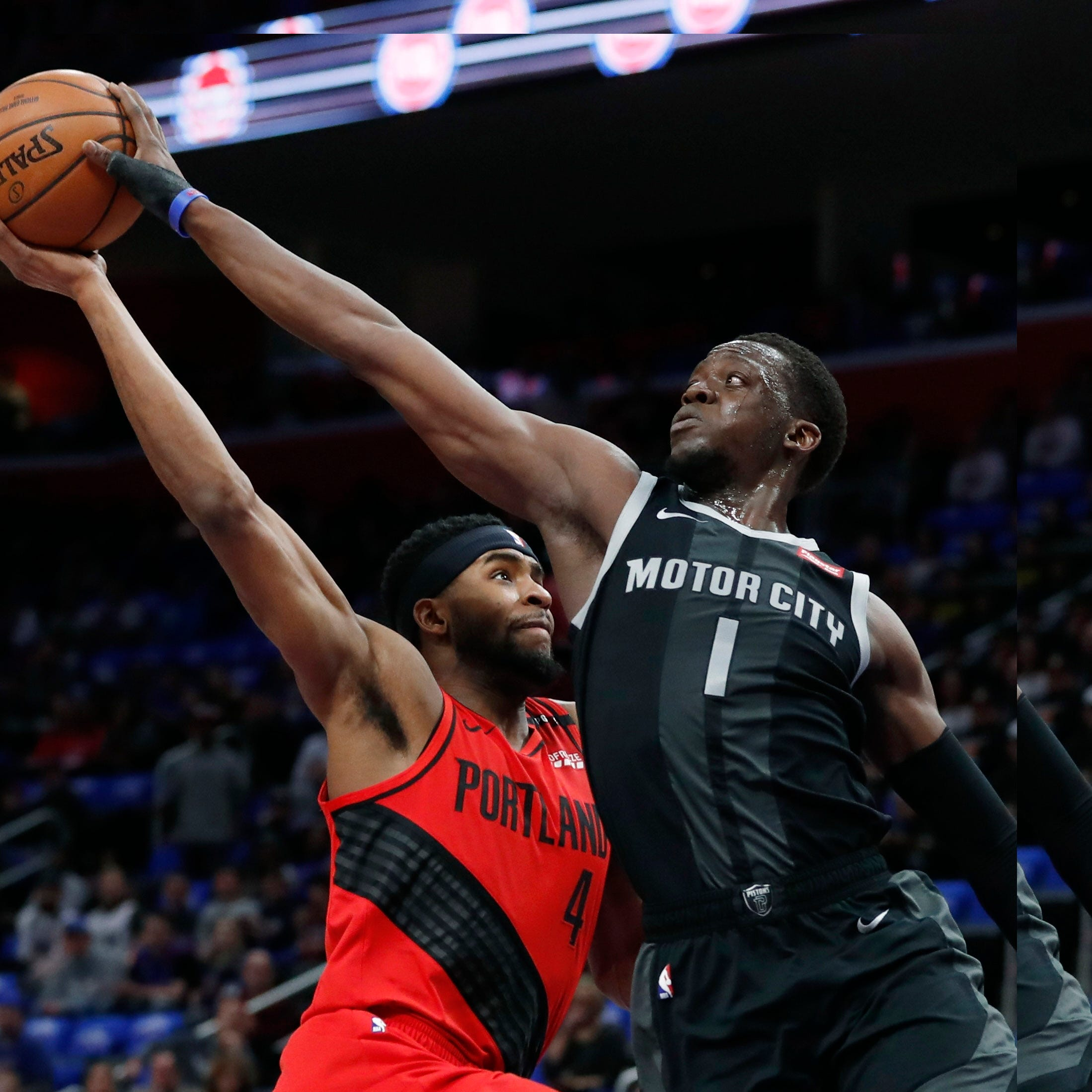 'We made it work': Minus Griffin, Pistons topple Trail Blazers to win 11th straight at home