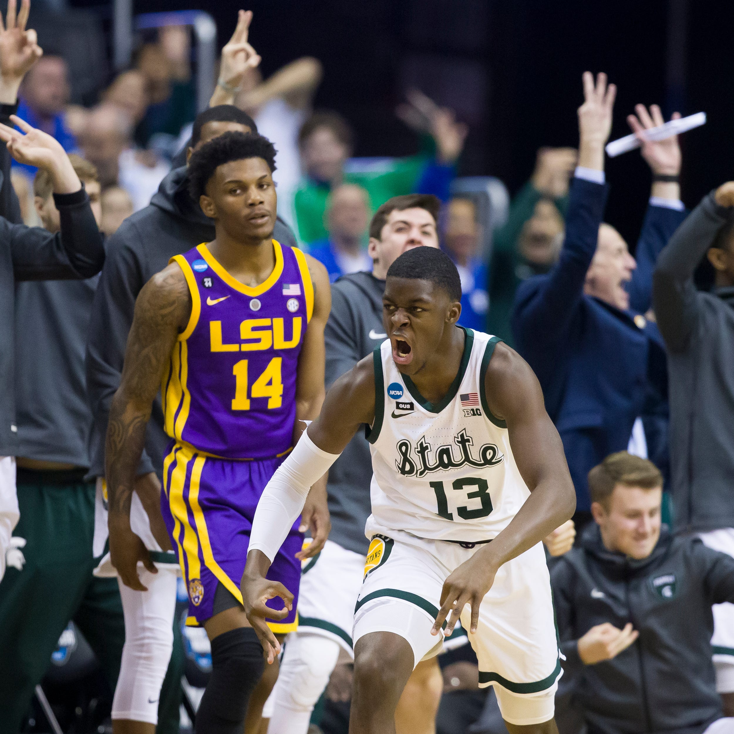 High school coaches of Gabe Brown, Kenny Goins elated for players' MSU success