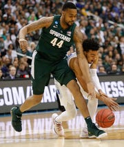 Since returning for the Big Ten tournament, Ward has averaged 5.9 points (43.2 percent shooting) and 4.1 rebounds in 13.1 minutes over the last seven games.