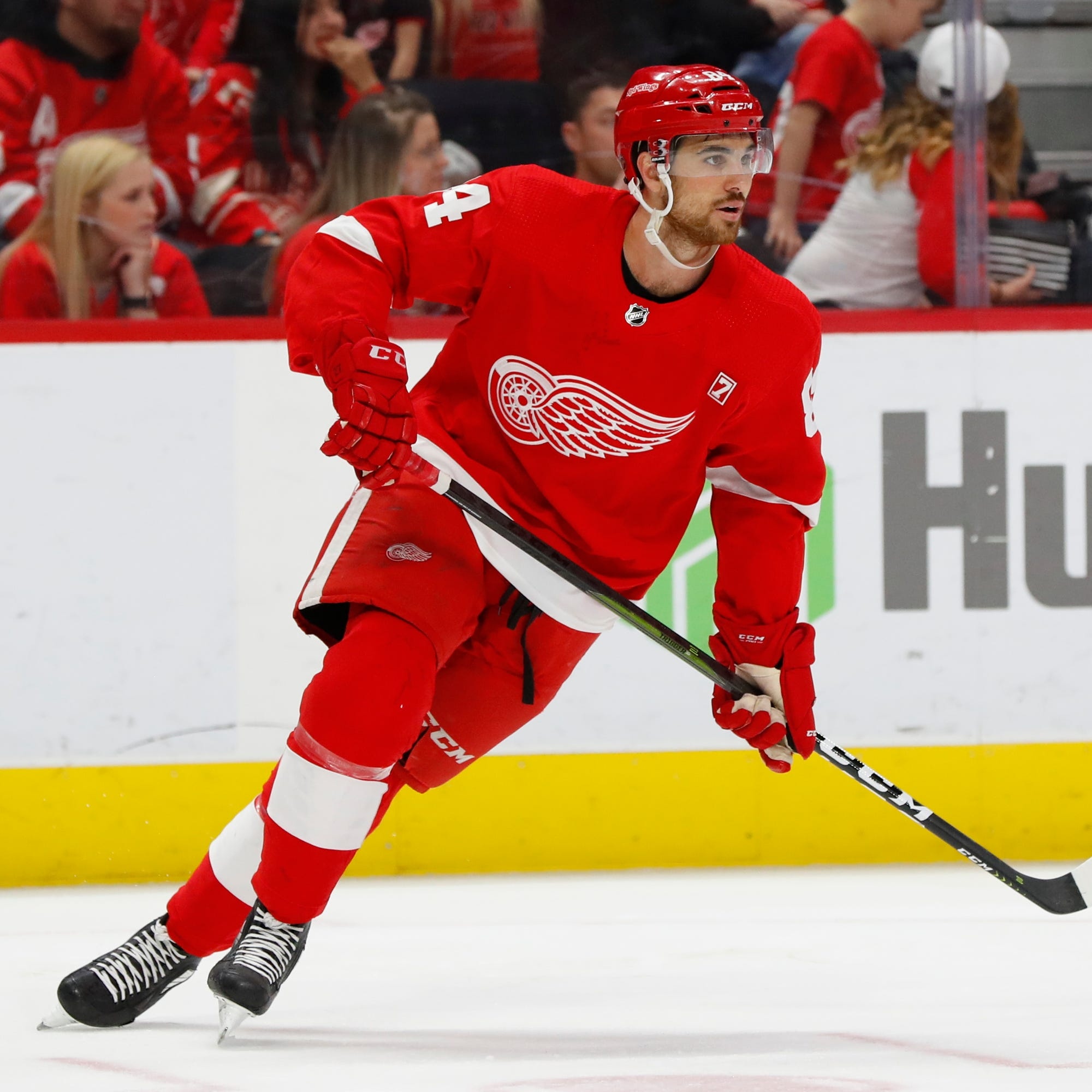 Red Wings' Jake Chelios basking in 'unbelievable experience' of NHL debut