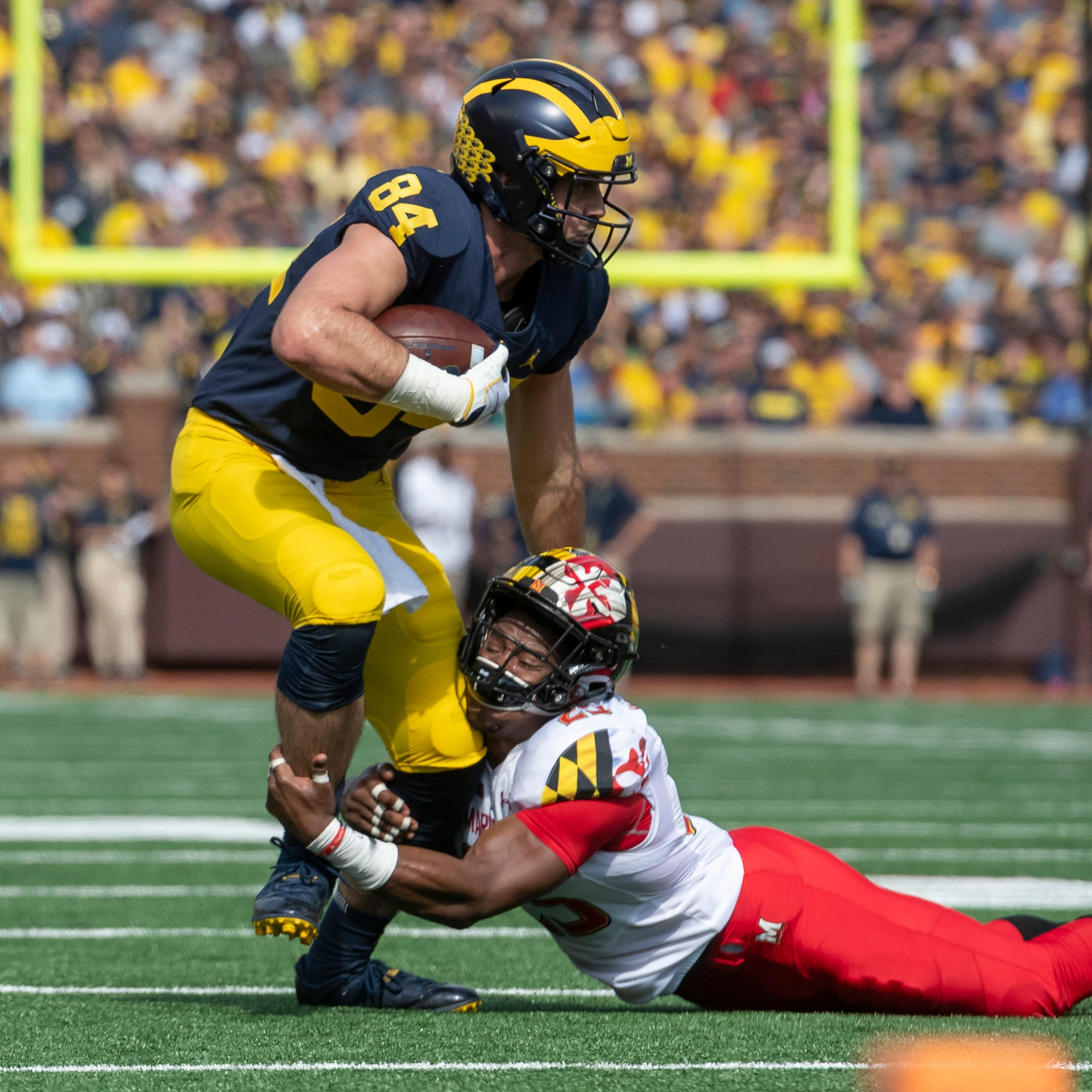 'Big speed in space': Michigan tight ends like sound of Josh Gattis' plans