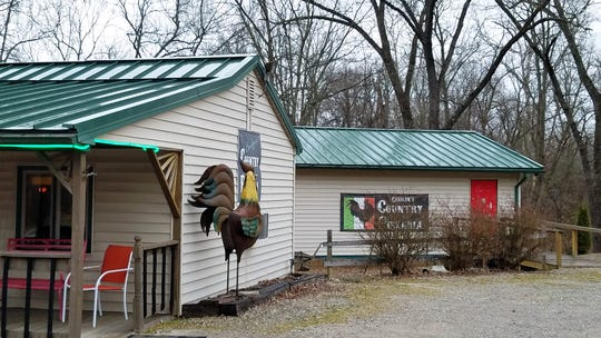 Carolyn's Country Pizza-ria lies about 50 minutes from Evansville in the country near Tennyson.