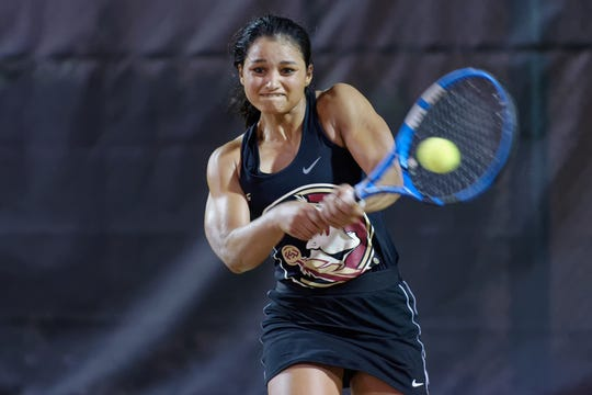 From Mumbai to Tallahassee, Florida State junior Nandini Das has become a crowd favorite due to her exciting play and engaging attitude.