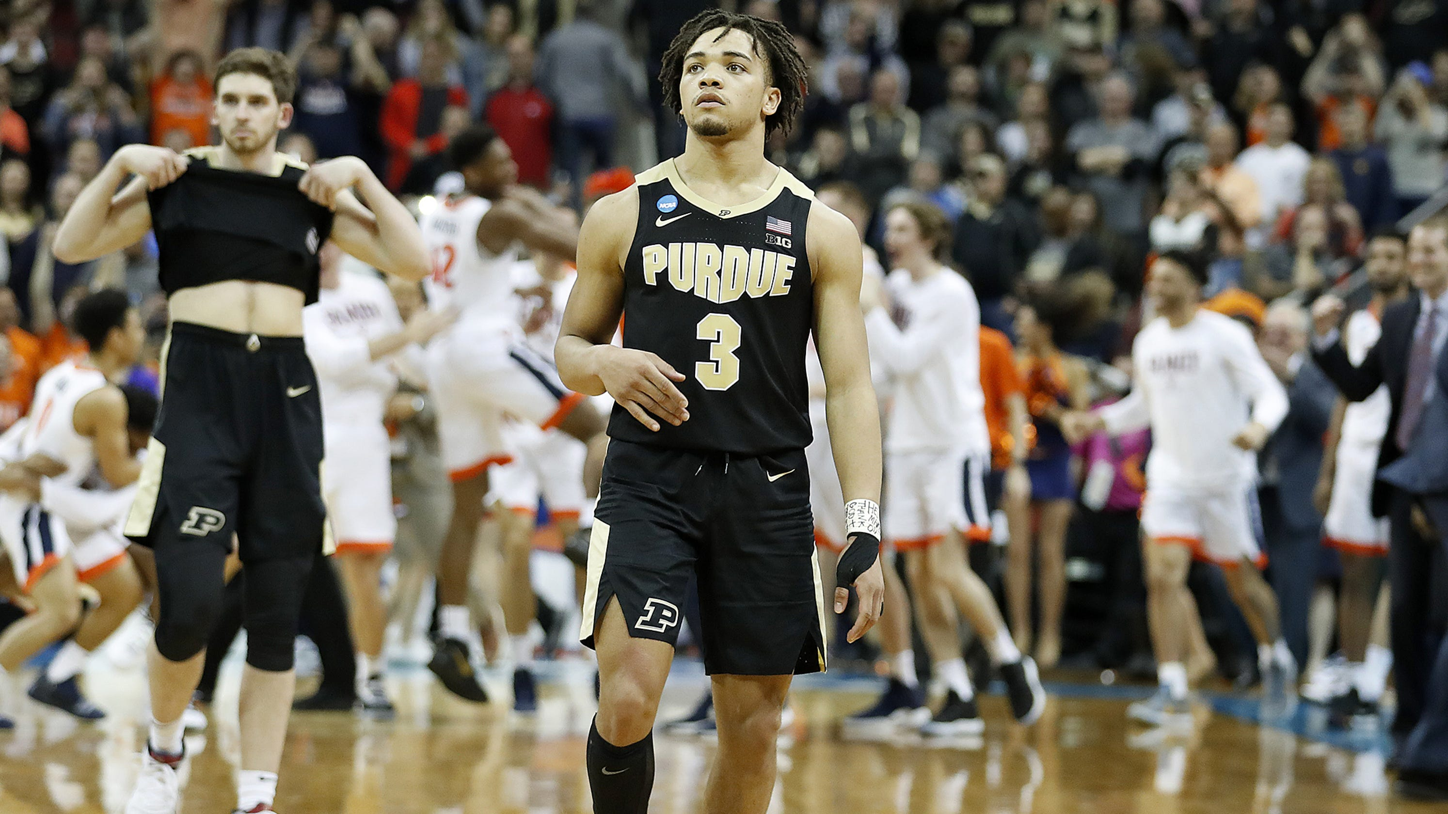 Purdue Carsen Edwards Fall Second Short Of Final Four In Cruel