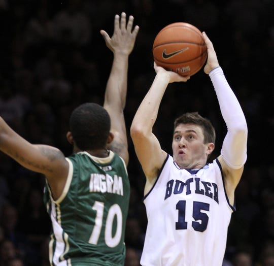 Butler's Rotnei Clarke, who played for the Bulldogs the 2012-13 season, is in the top 25 Division I 3-point shooters of all time.
