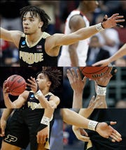 Purdue guard Carsen Edwards wrapped his left wrist in white tape prior to Saturday's Elite Eight game and wrote a handful of phrases that explained his state of mind entering the biggest game of his career.
