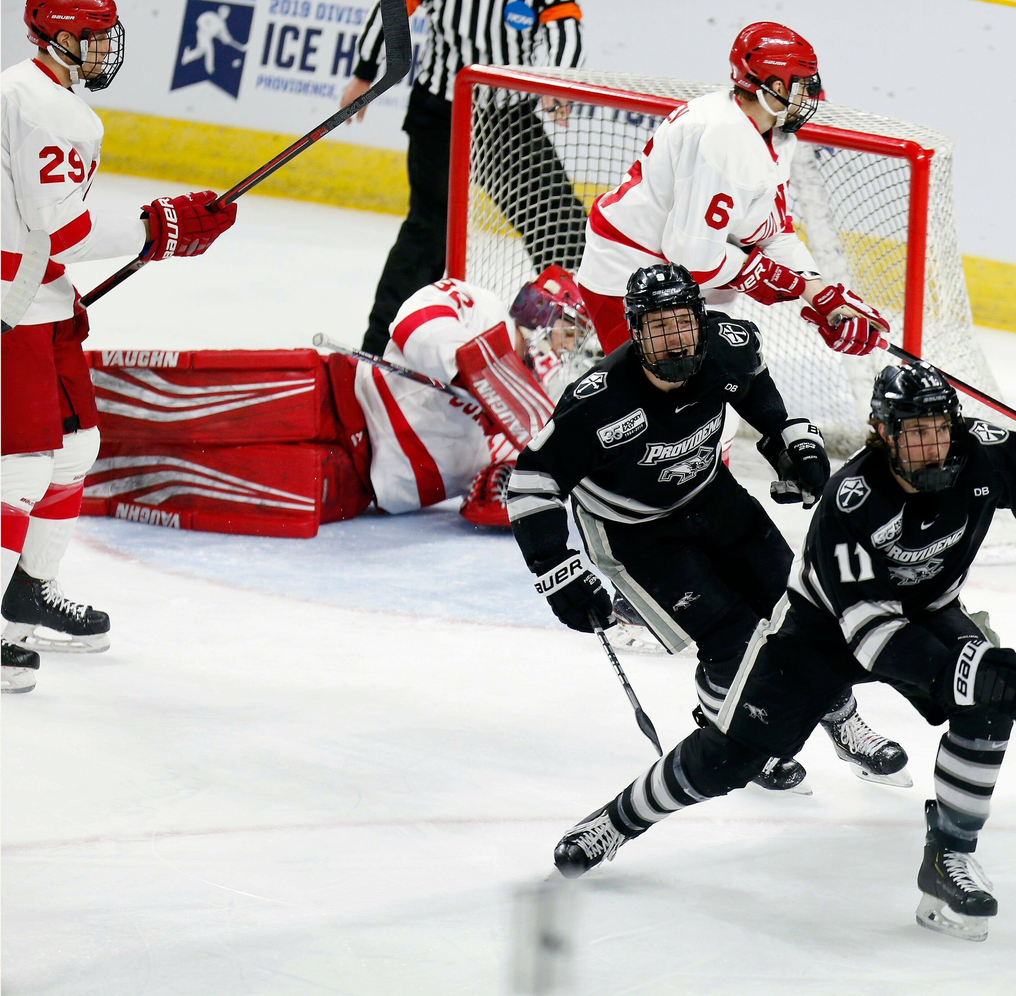 NCAA hockey: Providence men knock out Cornell University in regional final
